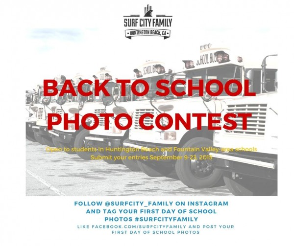 Surf City Family | Back to School Photo Contest | 2015