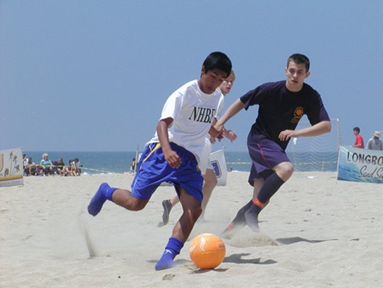 Photo from Sand Soccer Facebook Page