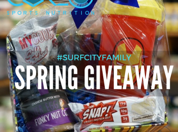 Core Sports Nutrition + Surf City Family Spring Giveaway!