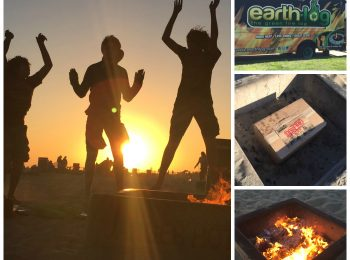 Build a Better Bonfire on the Beach with Earthlog