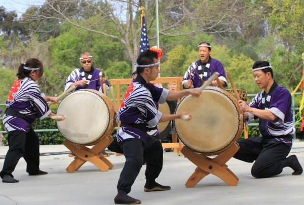 Cherry Blossom Festival - Photo by Gregory Robertson_taiko drum-1