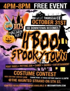 Downtown Huntington Beach Halloween | Surf City Family