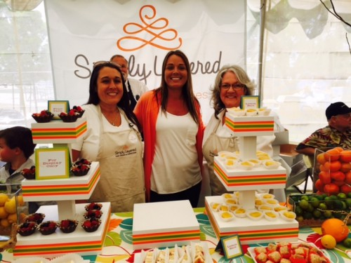 Simply Layered took the #TasteHB Best Dessert Award for the third year in a row!