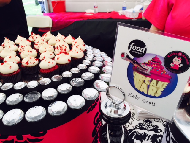 Cupcakes from Cupcake Wars' winner Bubba Sweets, which has two branches in Huntington Beach.