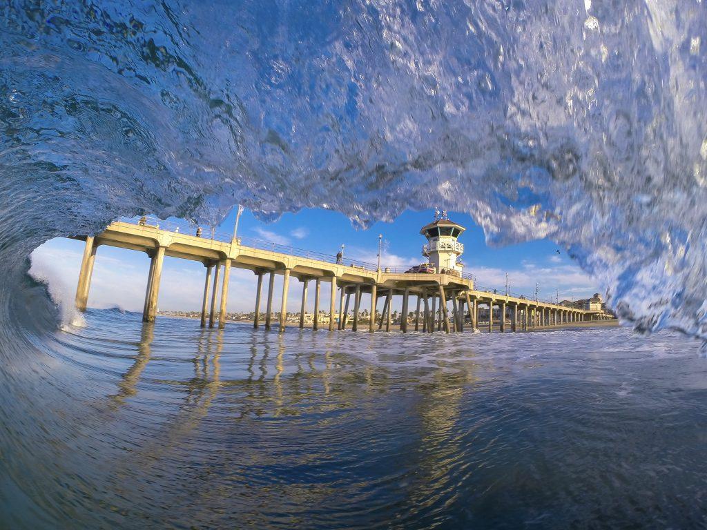 Huntington Beach Pier | FotoMerlin