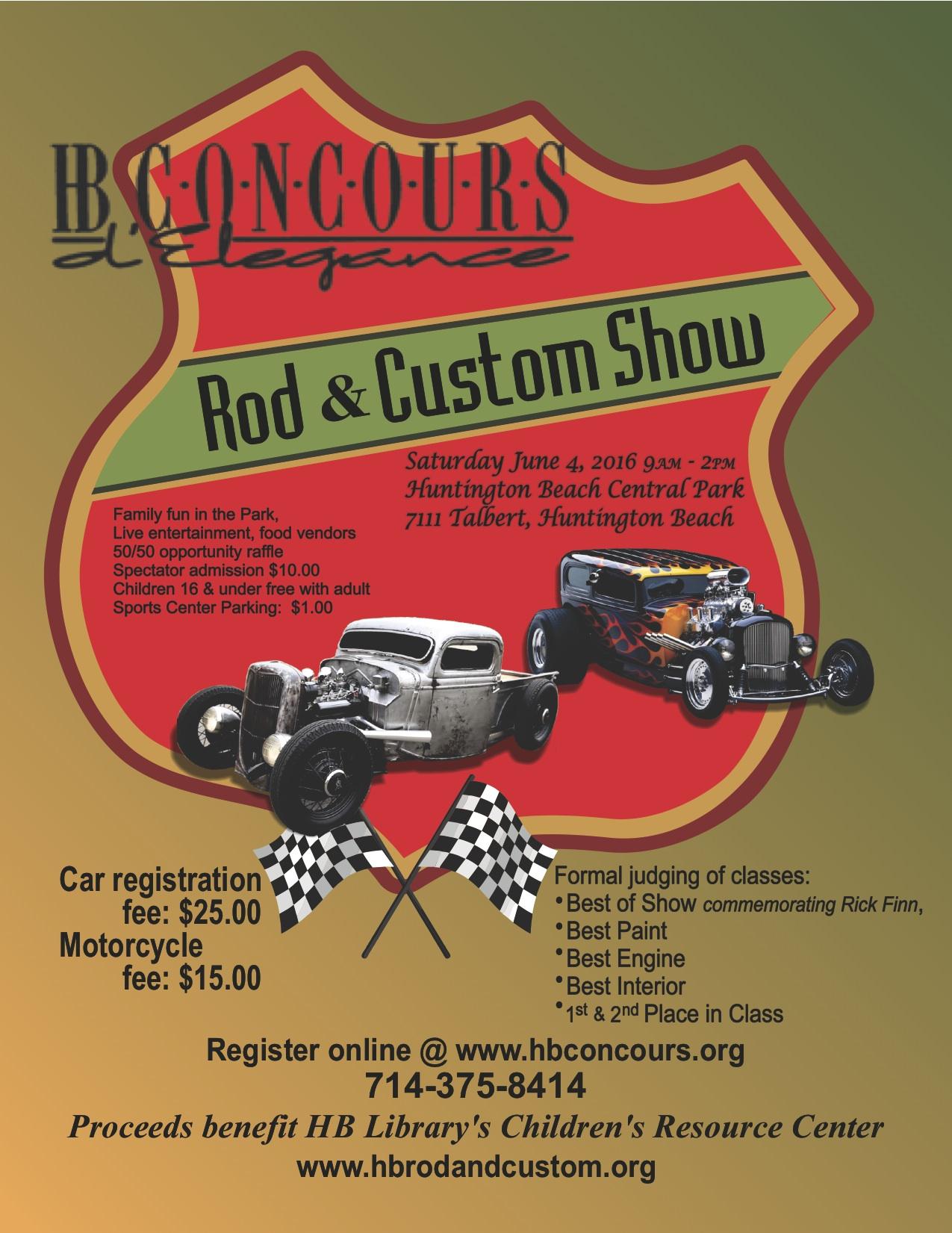 Huntington Beach Concours d'Elegance | car show