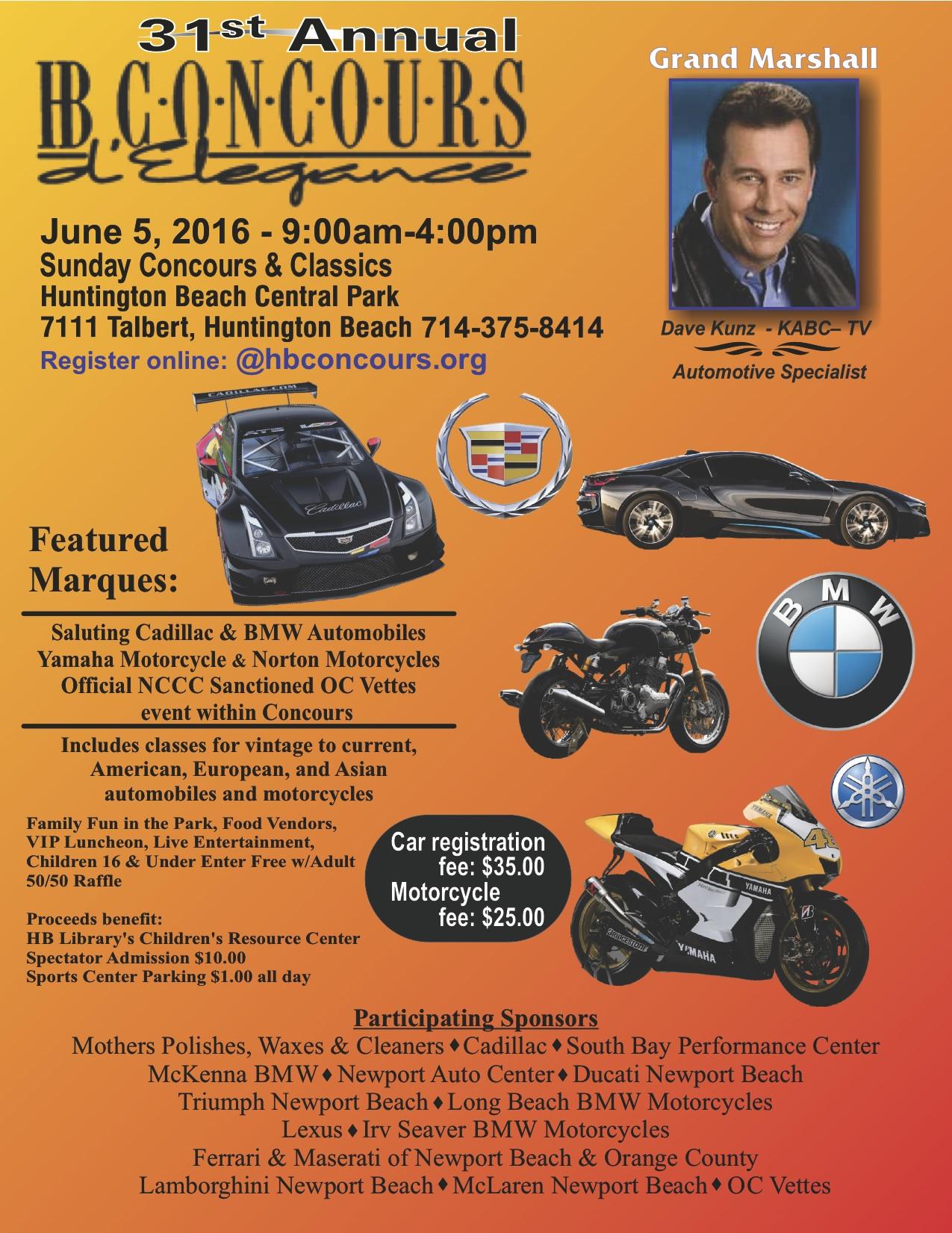 Huntington Beach Concours d'Elegance | Sunday Classic Cars
