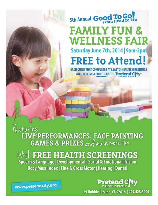 Good to Go From Head to Toe | Family Fun and Wellness Fair