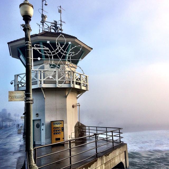 Huntington Beach Pier tower