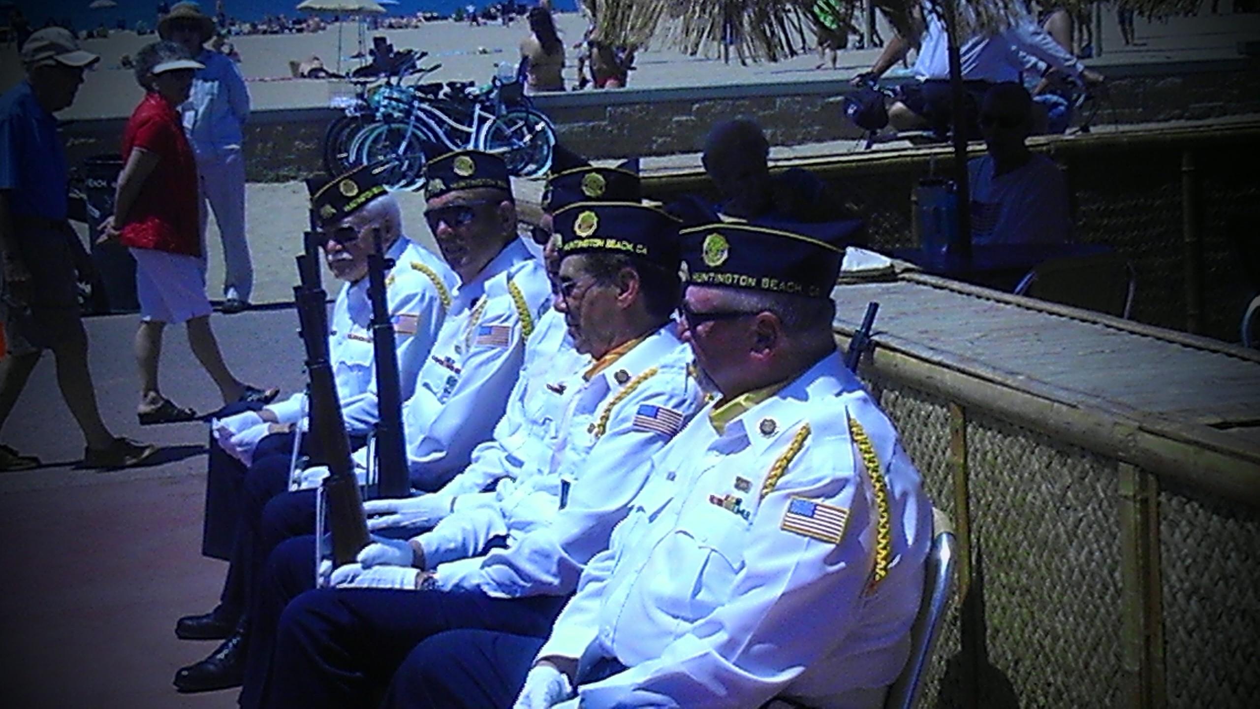 Huntington Beach Veterans Day Pics