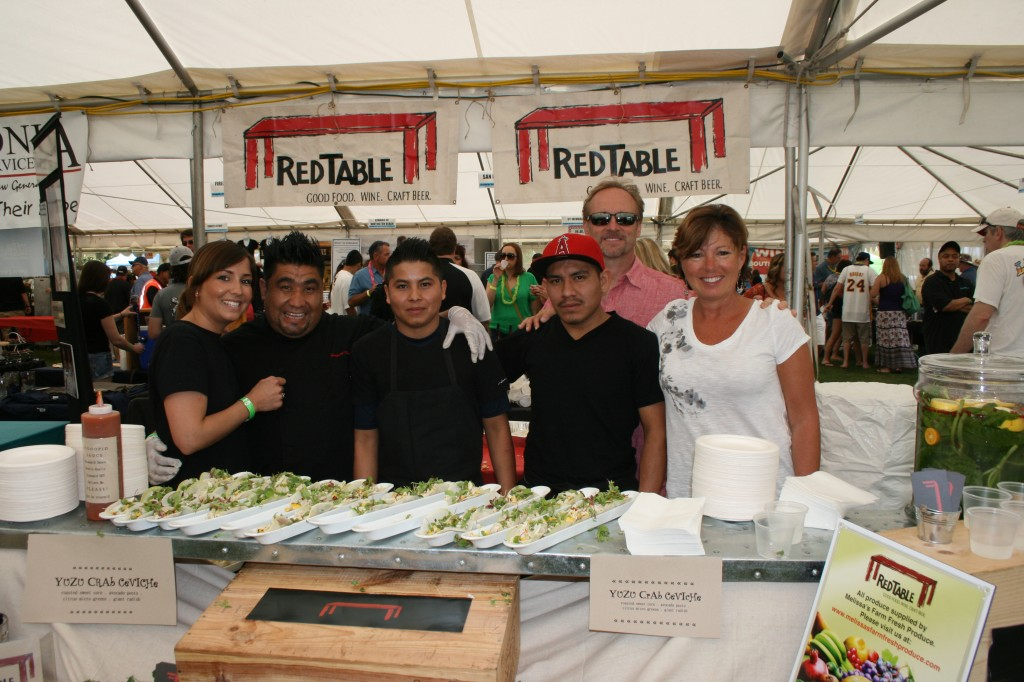 Red Table Restaurant will be at the Taste of HB