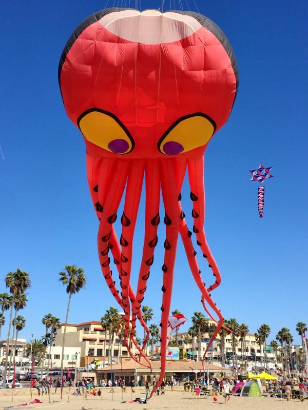 Octopus Kite, Huntington Beach