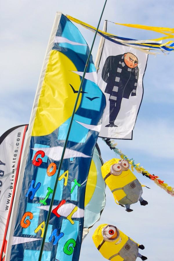 Kite festival, kite party, Photo by Larry Tenney