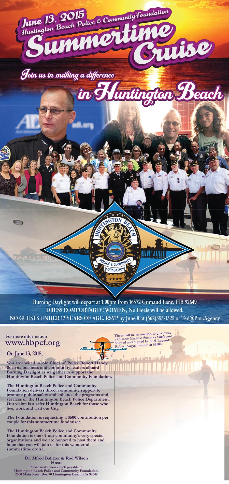Invite-HB Police & Comm. Foundation Fundraiser (6-13-15) (JPG) #1