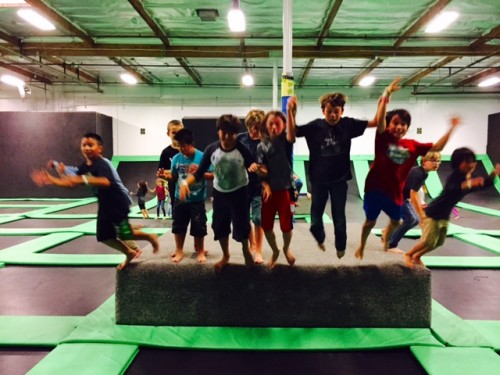 Get Air Surf City Family Birthday Party