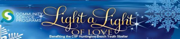 Light a Light of Love | Huntington Beach