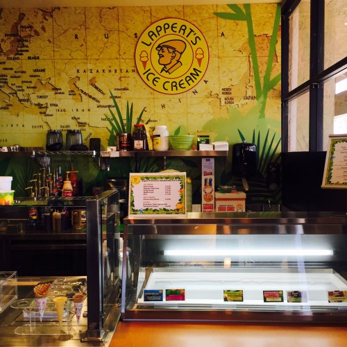 Lappert's Ice Cream Bar at Monkey House Cafe