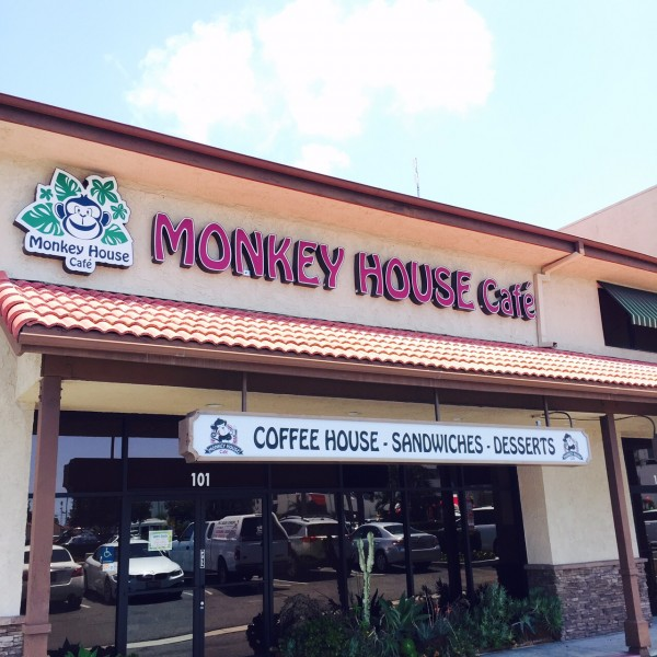 Monkey House Café in Huntington Beach