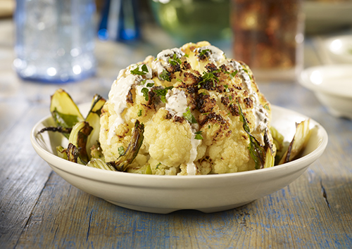 Whole Roasted Cauliflower | Stonefire Grill | Surf City Family