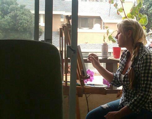 Sarah | Canvas Paint and Wine | Huntington Beach
