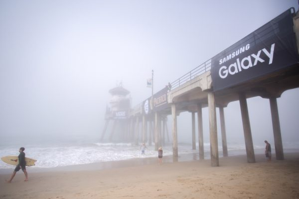 US Open of Surfing, Huntington Beach pier