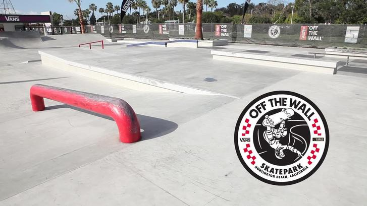 Vans Off the Wall Skatepark Huntington Beach