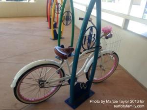 Bike Racks at Huntington Beach City Hall