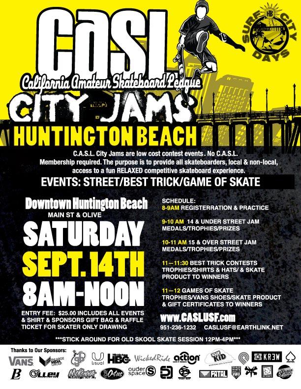 CASL City Jams   Skateboarding