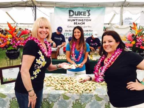 Old favorites, Duke's Huntington Beach, were back to support the Taste of HB.