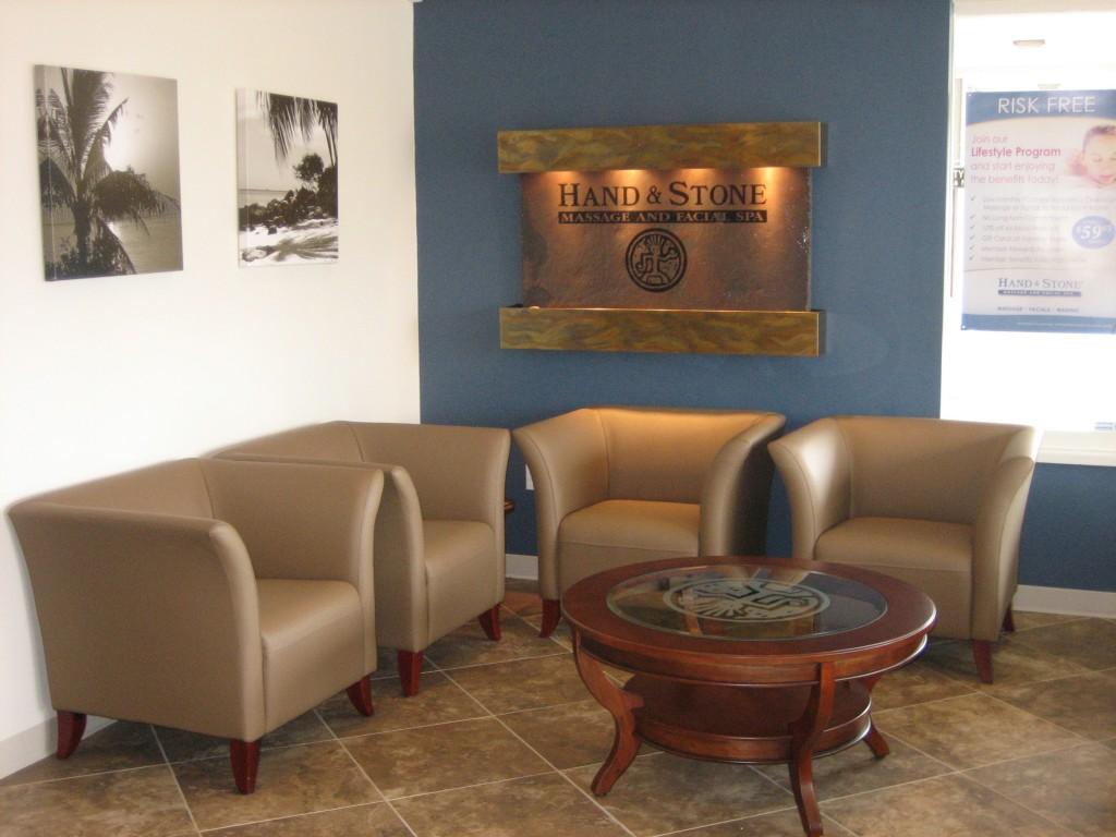 Hand and Stone lobby | Huntington Beach