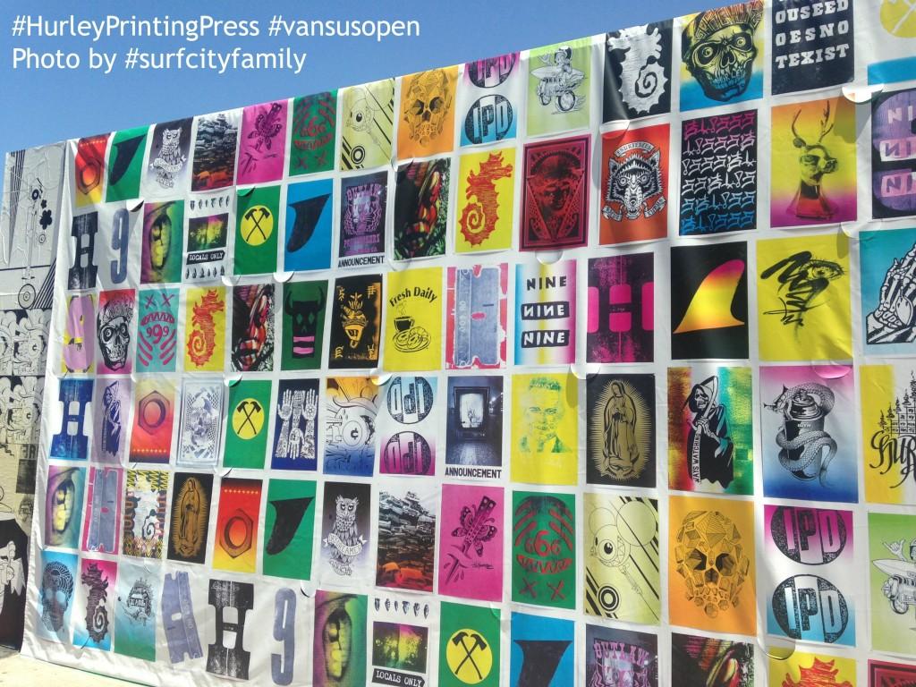 Hurley Printing Press | Huntington Beach | Surf City Family