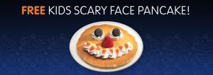 Scary Face Pancake | IHOP