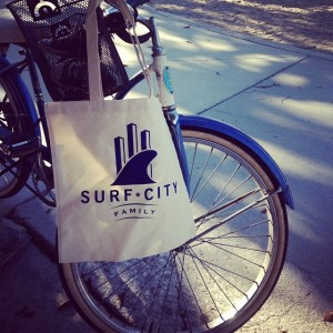 Surf City Family | Reusable Bag