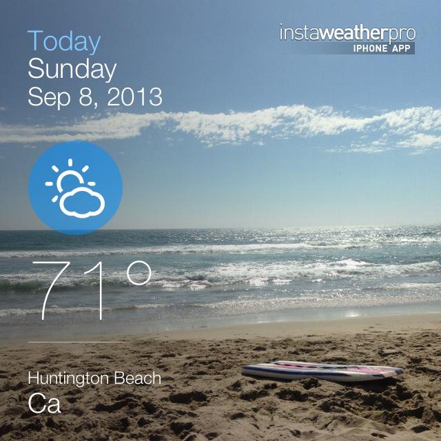 Huntington Beach Code Weather Code