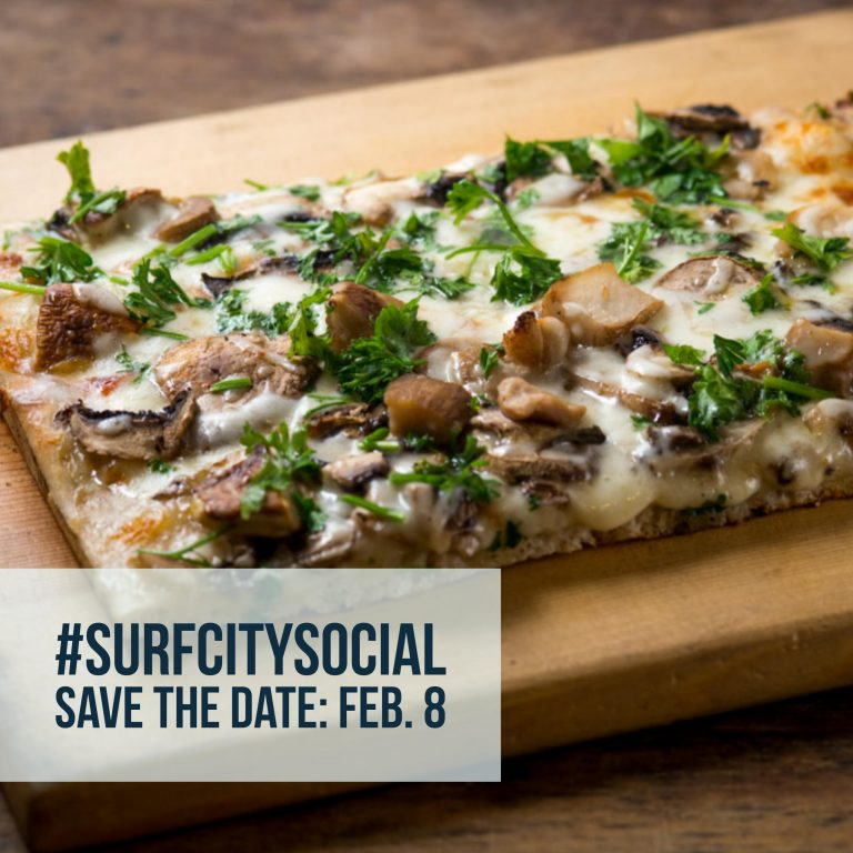 #SurfCitySocial Pizza Tasting and Mixer: You Are Invited
