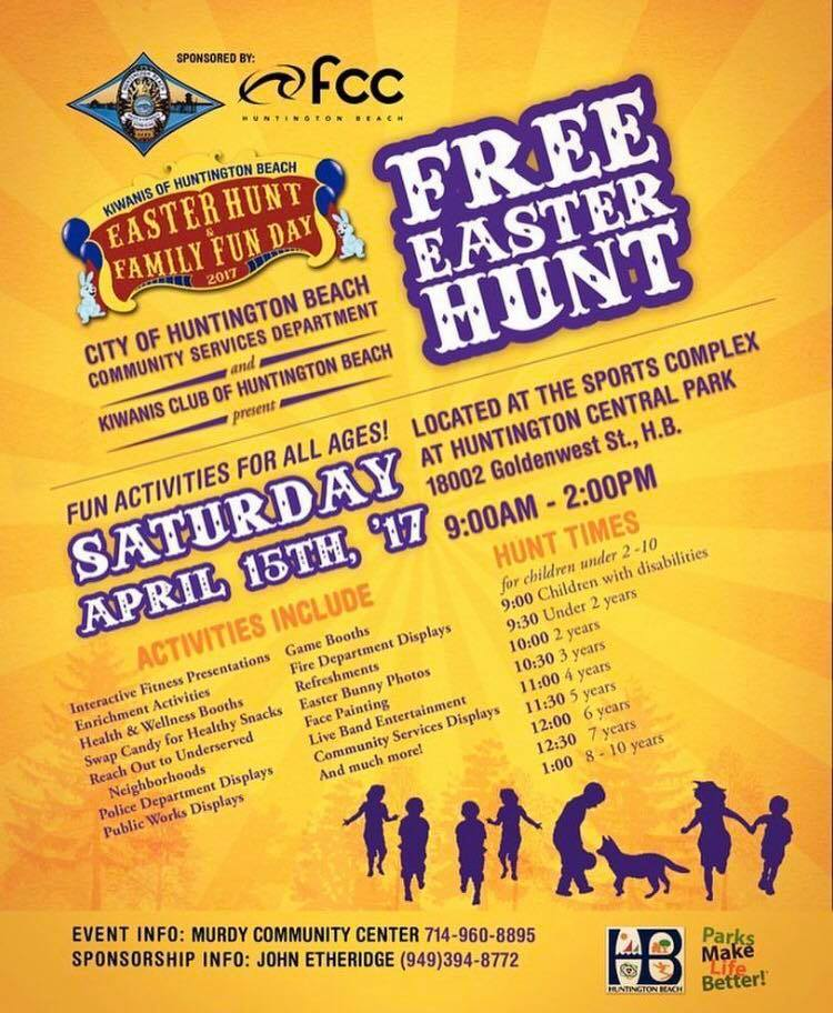 Family Fun Day And Free Easter Egg Hunt Surf City Family