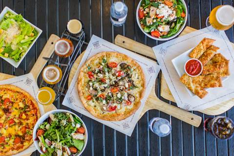 The Pizza Press Grand Opening in Huntington Beach