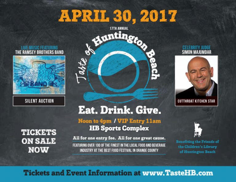 Food Network Star Simon Majumdar Returns to the Taste of Huntington Beach