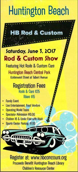 Huntington Beach Rod And Custom Car Show Surf City Family - Car show huntington beach