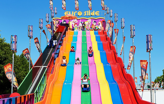 Orange County Fair Super slide