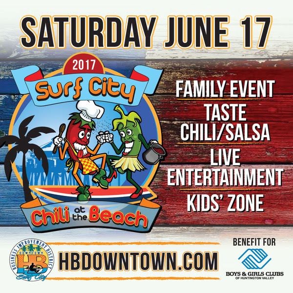 Downtown Huntington Beach Father's Day event Chili Cook-Off