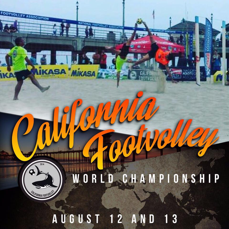 Footvolley in Huntington Beach