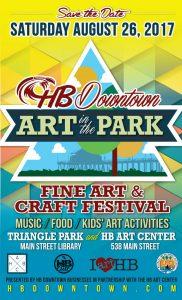Downtown Huntington Beach Art in the Park 2017