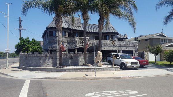 Castle House in Huntington Beach