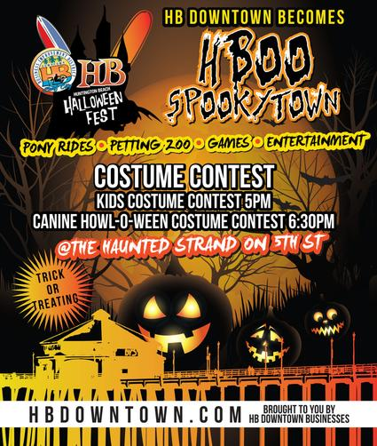 Spend Halloween in Downtown Huntington Beach