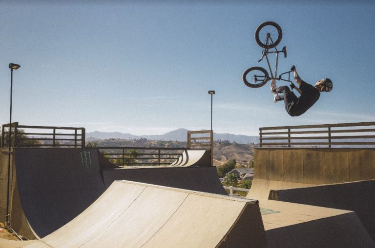 VANS BMX Riders in Downtown HB on March 6