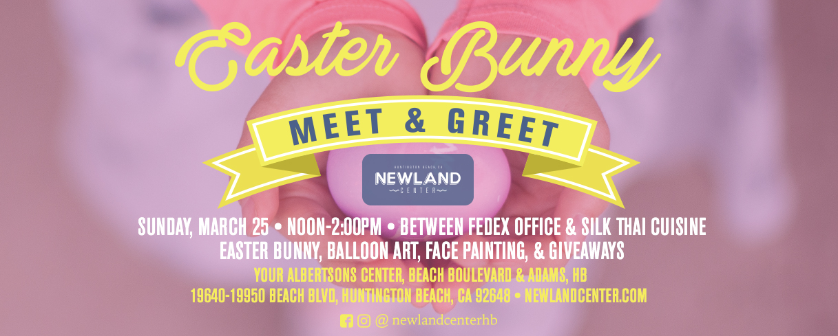 Meet Easter Bunny at Newland Center