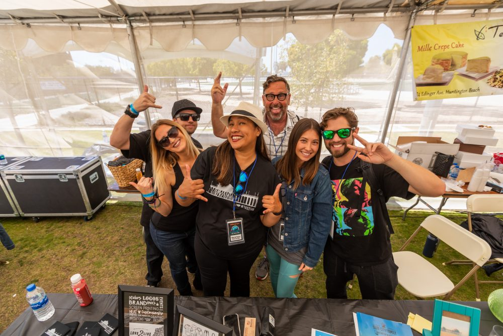 Surf City Family Crew at Taste of HB 2018