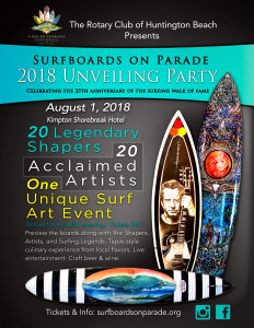 Surfboards on Parade 2018