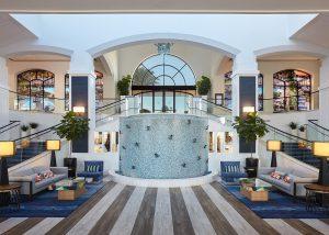 Waterfront Hilton Lobby